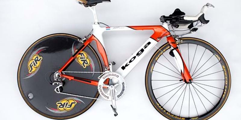 De fiets van Leontien van Moorsel