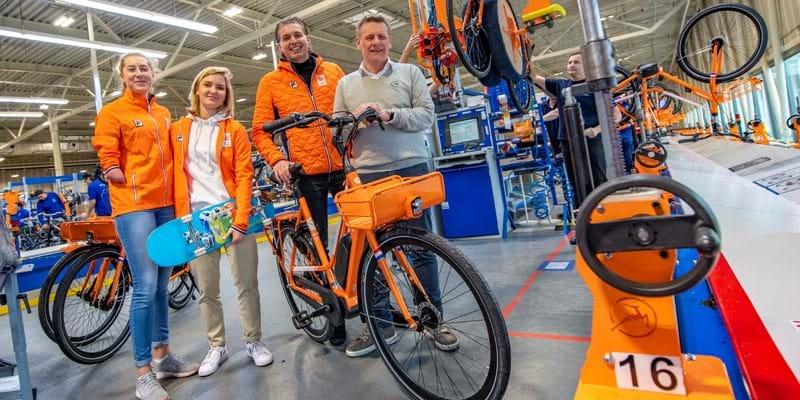 TeamNL rijdt tijdens Tokyo2020 op e-bikes van Gazelle