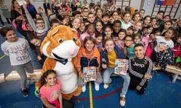 Meer dan 200.000 kinderen in beweging door De Pauze Spelen