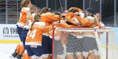 IJshockeyvrouwen krijgen ondersteuning van NOC*NSF en IOC op weg naar Beijing2022
