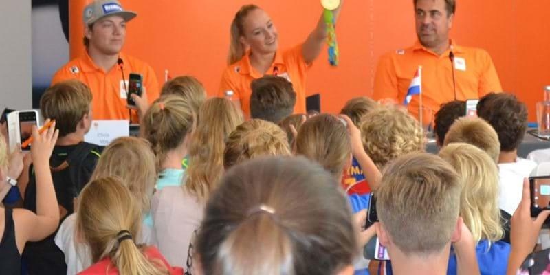 Olympische educatie: TeamNL in de klas