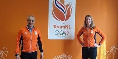 Oud-topsporters Joyce Sombroek en Wilf O'Reilly ondersteunen TeamNL als Covid-19 liaison officers