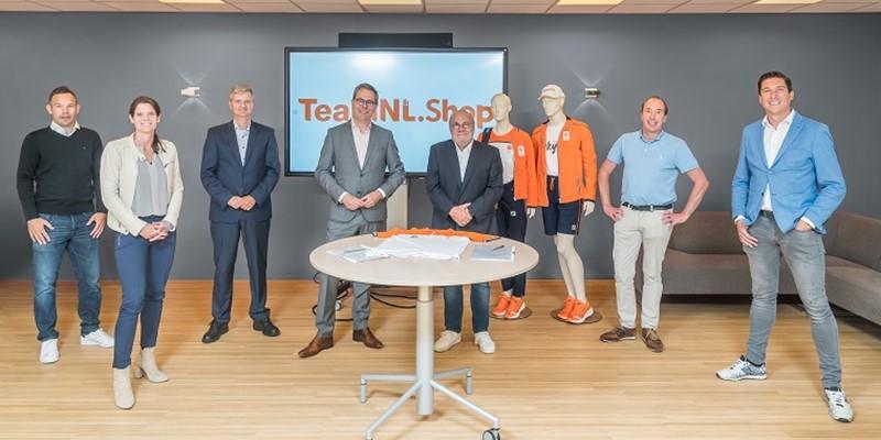NOC*NSF introduceert TeamNL.shop