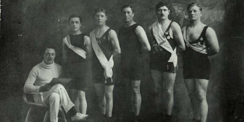 Touwtrekploeg Antwerpen 1920