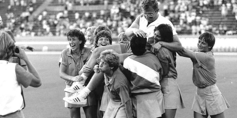 Hockeyvrouwen Los Angeles 1984