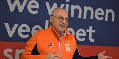 """Maurits Hendriks: """"Ondanks corona blijven de investeringen in topsport op hetzelfde niveau, dat is uitzonderlijk"""""""