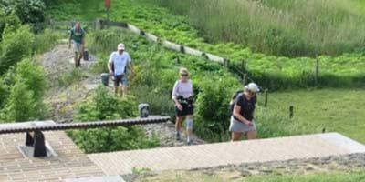 Sportwereld tegen corona: Stichting 40 Mijl maakt met de Coronamars de weg vrij voor 'het nieuwe wandelen'
