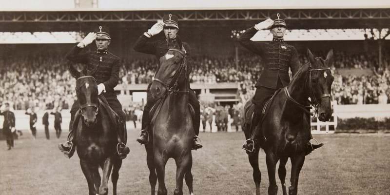 Ruiterequipe 1924-1928