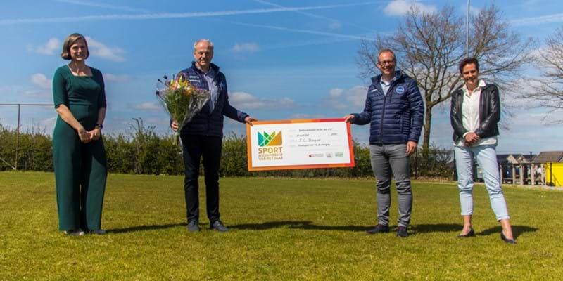Voetbalvereniging FC Burgum winnaar Sportaccommodatie van het Jaar