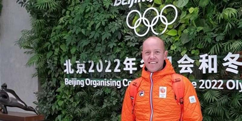Carl Verheijen chef de mission Beijing 2022