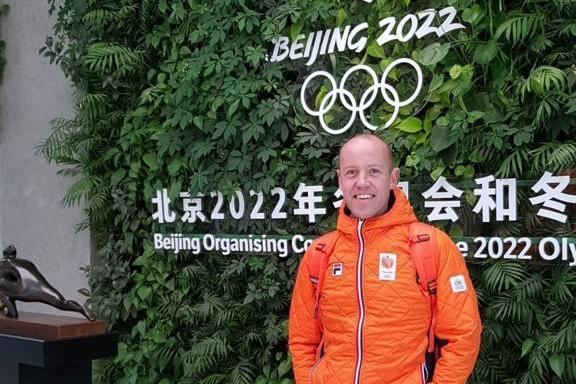 Carl Verheijen chef de mission Beijing 2022