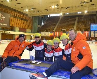 Nederlandse medaillewinnaars winter EYOWF