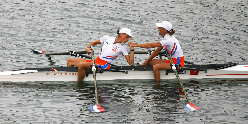Marit van Eupen en Kirsten van der Kolk