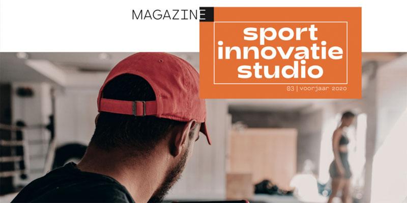 Innovatie on demand in derde editie Sportinnovatiemagazine