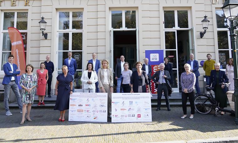 NOC*NSF ondertekent manifesten voor vitaliteit en gezonde leefstijl en voor inclusie en participatie